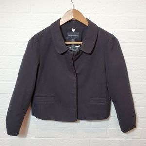Banana Republic Black Twees Jacket Size 4